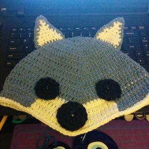 Gray Fox hat for kids, Halloween Hat